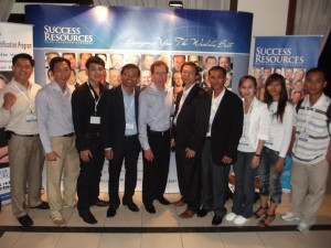 Cambodian Team with Blair Singer