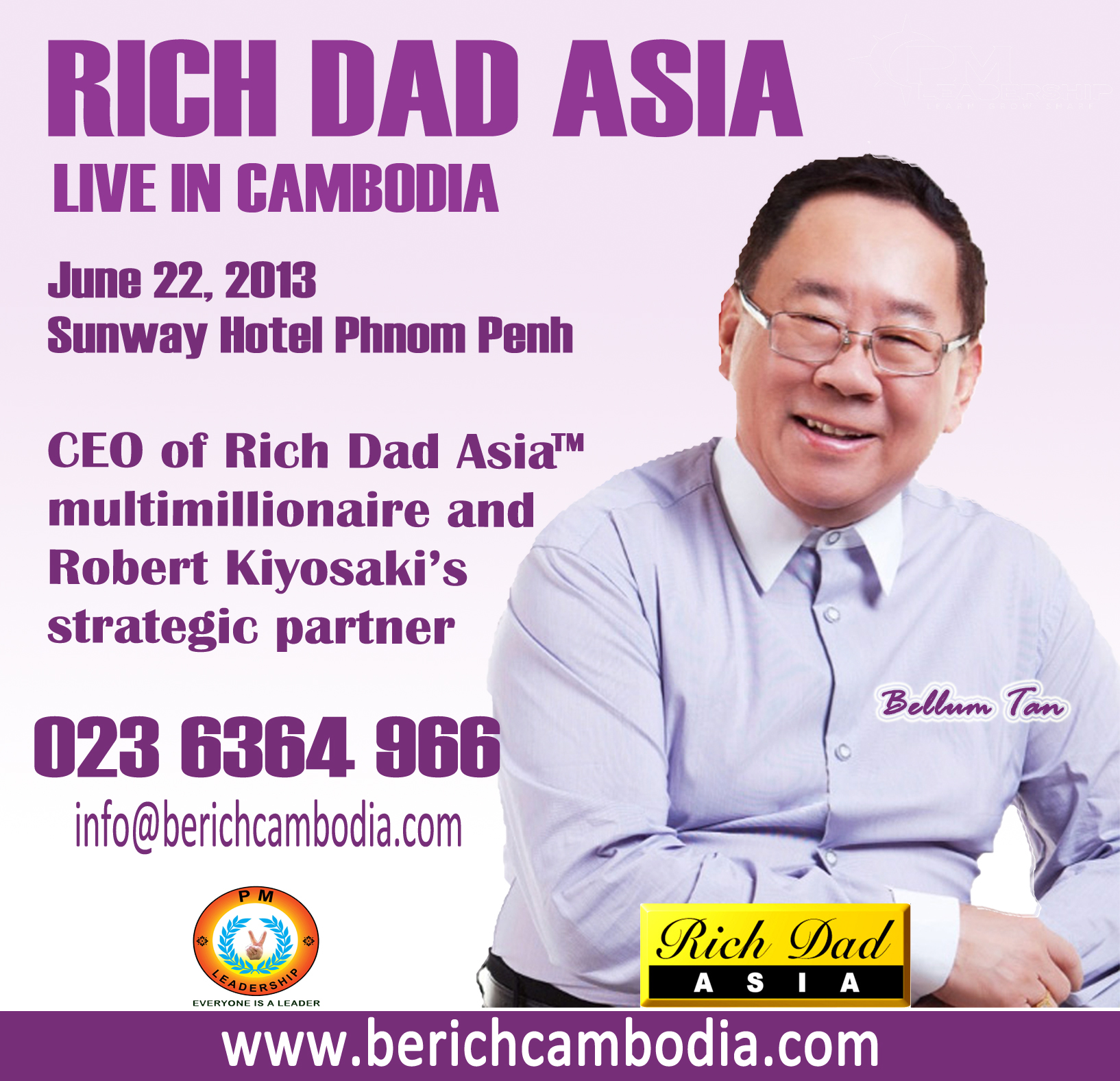 Rich Dad Promotion copy